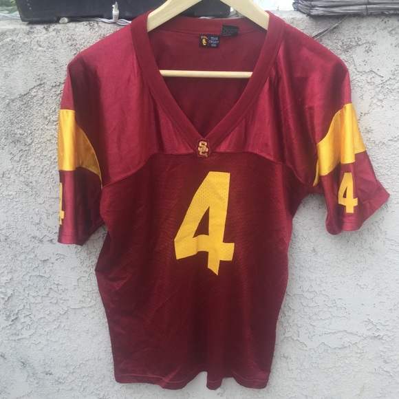 on sale 406dc b7578 Official USC Trojans XXL YOUTH Football Jersey